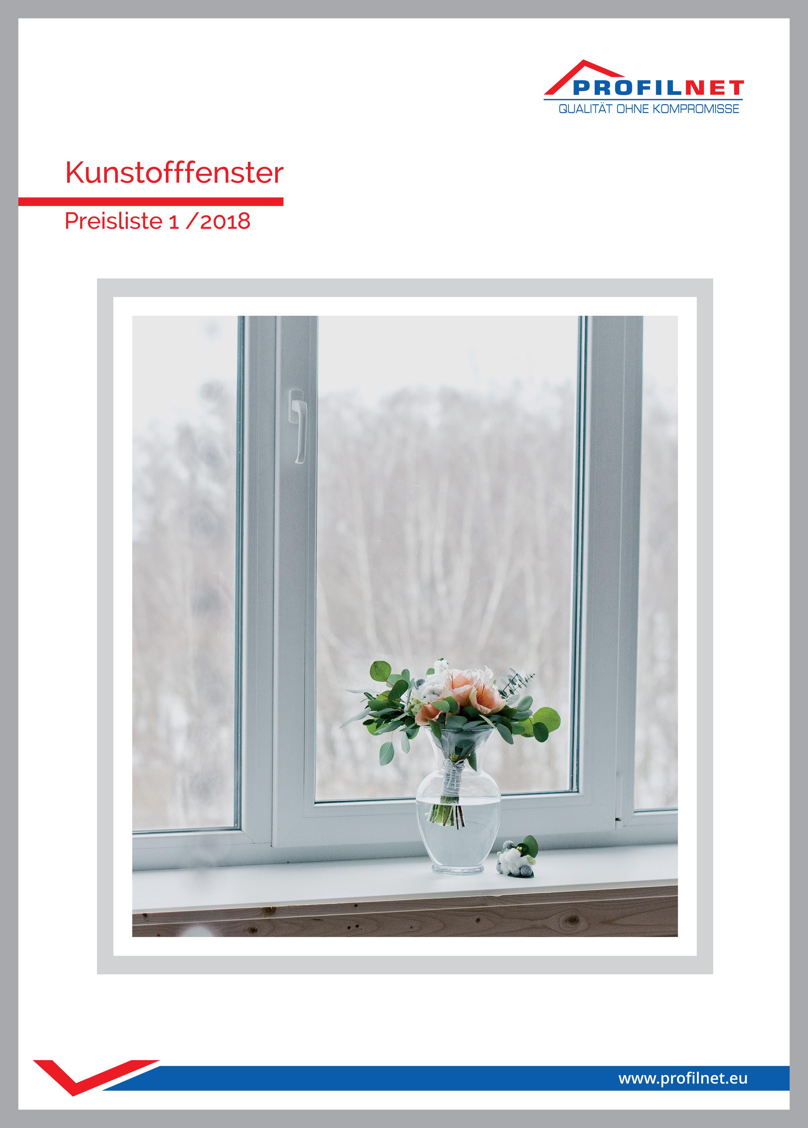 neue preisliste von kunstofffenster und t ren profilnet. Black Bedroom Furniture Sets. Home Design Ideas